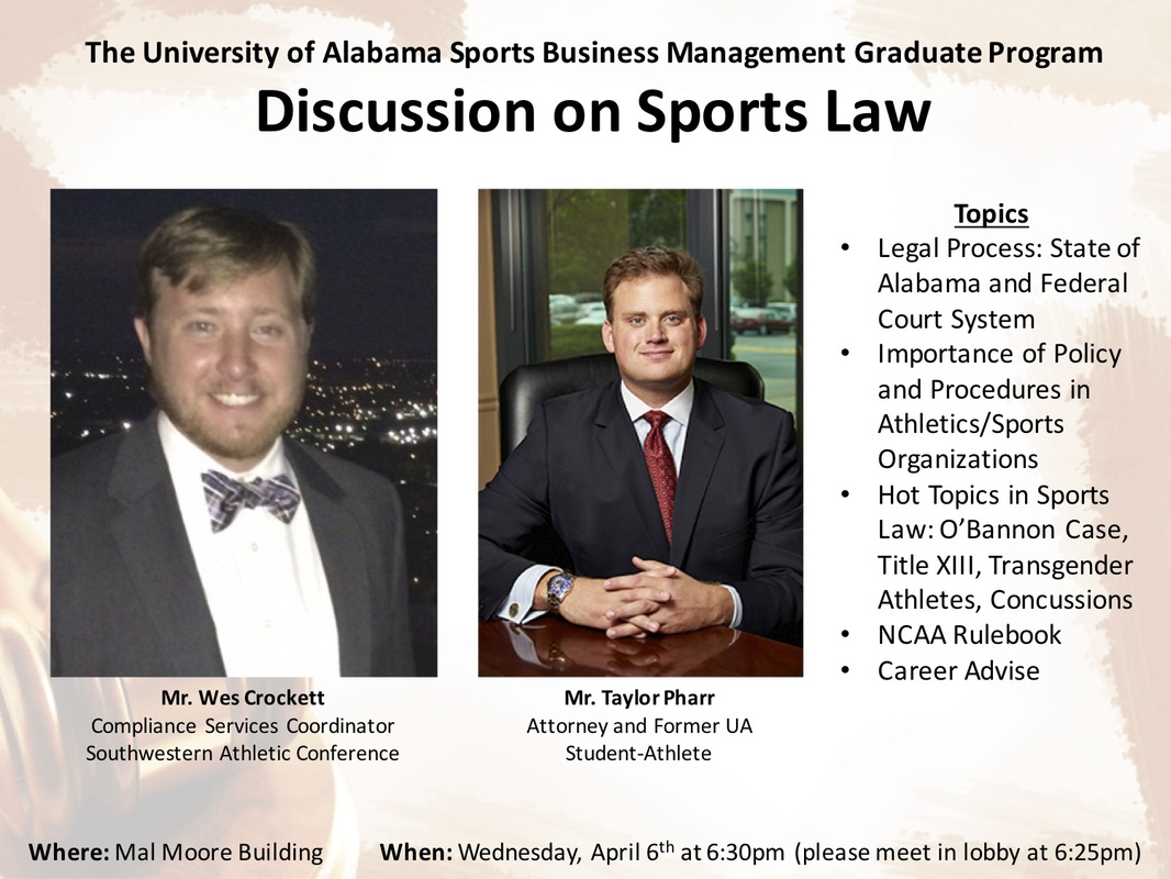 discussion on sports law
